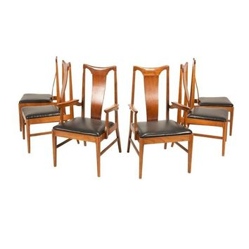 Pre-owned Danish Modern Walnut Dining Chairs - Set of 6