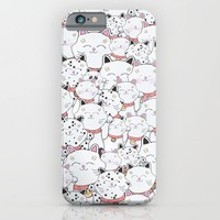 FIND THE PANDA - LUCKY CAT iPhone & iPod Case by Monika Strigel | Society6