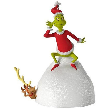 Dr. Seuss's How the Grinch Stole Christmas! Welcome Christmas Musical Ornament