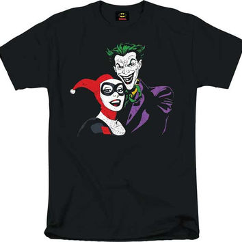 HARLEY AND JOKER MENS TEE