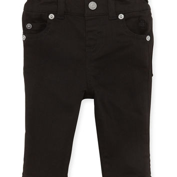 5-Pocket Jeans, Black, Girls' 3M-3Y,