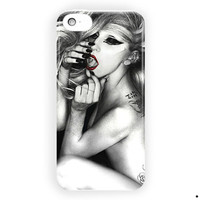 Lady Gaga The Edge Of Glory Style For iPhone 5 / 5S / 5C Case