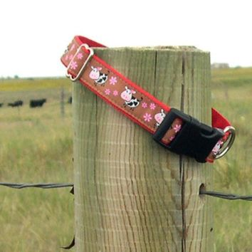A DaY at The FaRm Dog Collar by COZYHORSE on Etsy