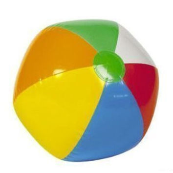 "3 Dozen (36) Mini Beach Balls- 6""each / Party/Luau/Favor/Wedding/Pool /Decoration"