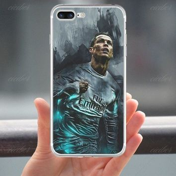 Cristiano Ronaldo POR Case Cover For Iphone X 10 8 Plus 7 6 5 Apple Real Madrid
