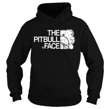 The pitbull face  Hoodie