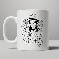 Bruno Mars Mug For Gift Mug Mug, Tea Mug, Coffee Mug