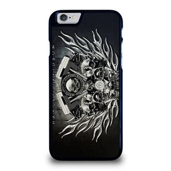 HARLEY DAVIDSON SKULL ENGINE iPhone 6 / 6S Case Cover