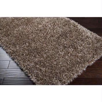 Area Rug - 8' X 10' - Colors Include Dark Brown, Ivory,parchment And Safari Tan