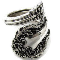 Spoon Ring Rare Cedric Wrapped Choose Your Size