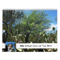 Southwest Cactus and Trees Edition by Photo Mutt Calendar