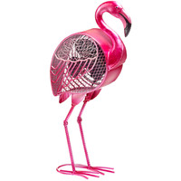 Flamingo Figurine Table Fan