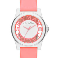 MARC JACOBS - Henry Skeleton Watch, Pink