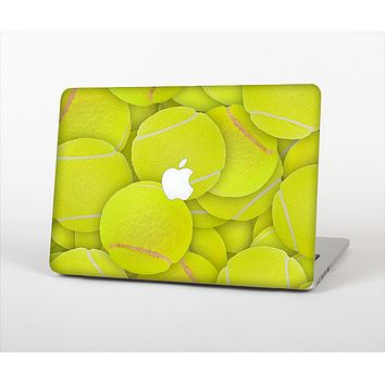 "The Tennis Ball Overlay Skin Set for the Apple MacBook Pro 15"" with Retina Display"