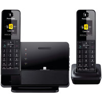 PANASONIC DECT 6.0 Plus Link-to-Cell Bluetooth Dock-Style System with 2 Handsets for iPhone KXPRL262B KX-PRL262B