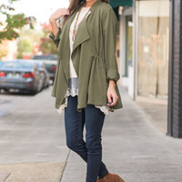 Out For The Night Jacket, Olive