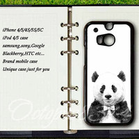 Samsung galaxy S4active case,htc one m7 / m8 / S / X case,Panda,samsung galaxy S3 / S4 / S5 / case,Blackberry Z10 case,Blackberry Q10 case