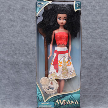 Kids Personalized Christmas Gifts Moana Adventure Mo Ahna Moana Princess Doll Gift Anime Toy Figures Toys for Children