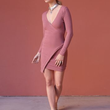 West Coast Wardrobe  Mischief Maker Dress in Mauve