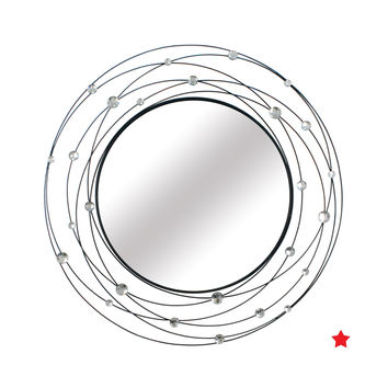 Round Planet Decorative Mirror