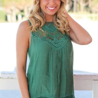 Forest Lace Top