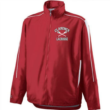 Clarence HS Mens Lacrosse Adult Aggression Jacket