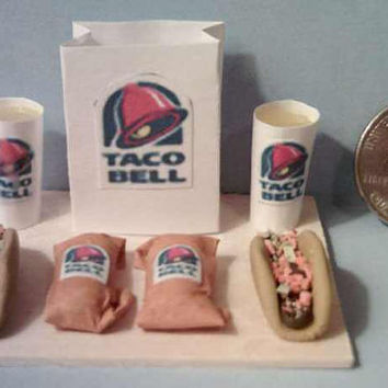Four Barbie Fast Food Board Sets Set 1