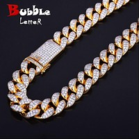 20mm Heavy Iced Cuban Link Necklace