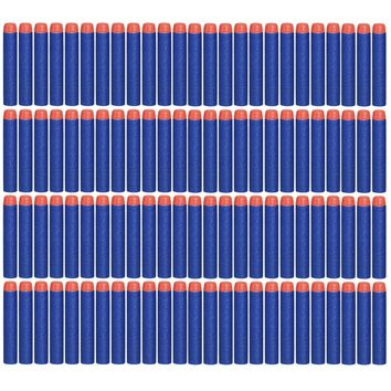 200 Pcs 7.2cm, 2.84 Inch Soft Nerf Compatible Bullets for Nerf N-strike Elite Series Blasters and other Kid Toy Guns Fire Blaster, Safe for Kids