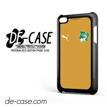Ivory Coast Soccer Jersey For Ipod 4 Ipod Touch 4 Case Phone Case Gift Present YO