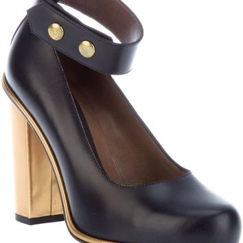 Marni Edition Contrast Heel Court Shoe