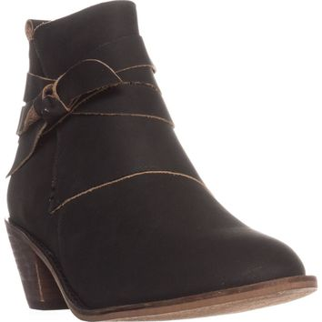 Kelsi Dagger Brooklyn Kingston Ankle Boot, Black, 9 US