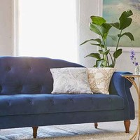 Sabina Velvet Tufted Sofa