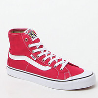 Vans Black Ball SF Hi Crimson Shoes at PacSun.com