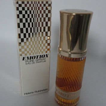 Vintage: Helena Rubinstein Emotion, Pure Spray eau de Parfum, 50ml, Full bottle incl. box, Rare!!!!!