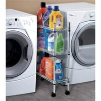 Rolling Laundry Cart White