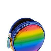 Iridescent Zip Coin Purse