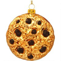 Chocolate Chip Cookie Glass Ornament - Food & Beverage - Christmas Ornaments - bronners - Categories - Bronner's CHRISTmas Wonderland
