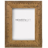 Ruler Picture Frame 5x7""