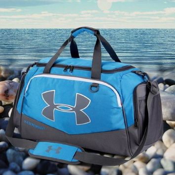 DCCKHI2 Under Armour Fashion Sport Handbag Tote Crossbody Luggage bag Travel Bag Blue Tagre-