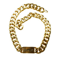1990s Chanel Logo Chain Belt