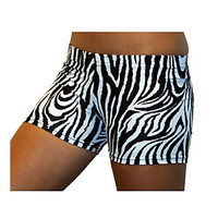 Gem Gear Girls; Animal Print Athletic Short | Scheels