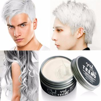 Top Quality Color Hair Dye Disposable Hair Wax White Purple Red Blue Grey Green Golden Hair Color Hair Dye Temporary