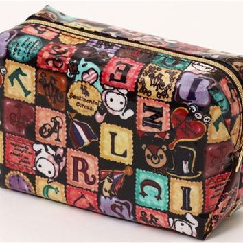 Sentimental Circus pouch with letters from Japan - Pencil Cases - Stationery