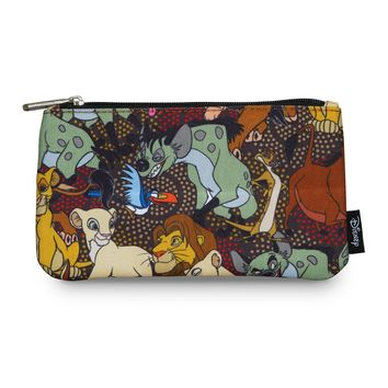 Loungefly x The Lion King Character Print Coin/Cosmetic Bag