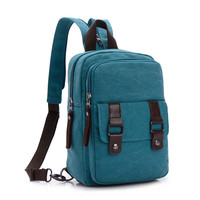 Fashion Women's Mini Backpack Canvas Bags For Teenager Girl Small Backpack Travel Bag Lady Schoolbags Multifunction Chest Pack