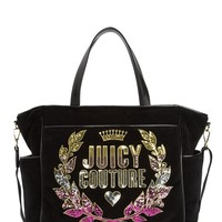 Jc Laurel Velour Baby Bag by Juicy Couture