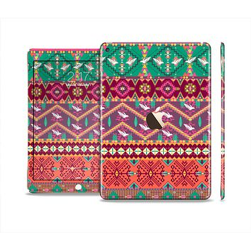 The Vector Aztec Birdy Pattern Skin Set for the Apple iPad Air 2