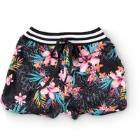Love, Fire Floral High Waisted Shorts