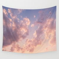 Skies Wall Tapestry by sushibird